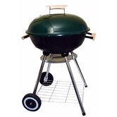 "16"" Charcoal Grill with Storage Rack"