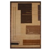 American Home Metro Gold/Brown Rug