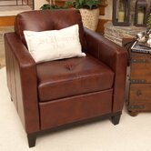 Carlton Top Grain Leather Chair