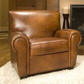 Conrad Top Grain Leather Chair