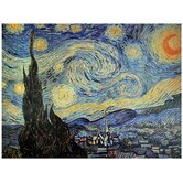 Starry Night Canvas Wall Art - 31.5&quot; x 23.5&quot;