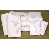 7 Piece Japonica Bath Set in White