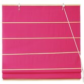 Cotton Roman Shades Blinds in Red