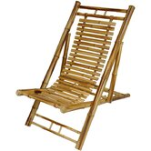 Japanese Bamboo Folding Chair