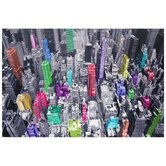 "Colorful New York Canvas Wall Art - 39.75"" x 59"""