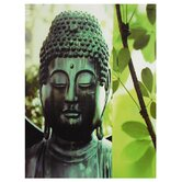 Outdoor Buddha Canvas Wall Art - 31.5&quot; x 23.5&quot;