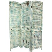 Rustic Venetian Cafe Room Divider