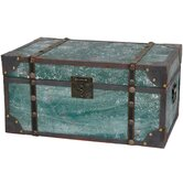 Distressed Wooden Trunk