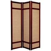72&quot; Jute Shoji Screen in Rosewood