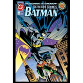 Batman and Robin Comic Book Wall Art