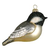Black Capped Chickadee Ornament