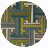 Vibrance Miami Geometric Puzzle Rug