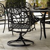 Bella Lucca Swivel Dining Arm Chair