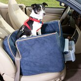 Luxury Lookout II Pet Car Seat in Microsuede