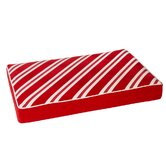 Diam Microvelvet Holiday Rectangle Dog Mattress