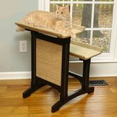 Craftsman Series Deluxe Double Seat Wooden Cat Perch
