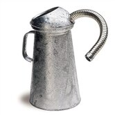 1 Quart Flexible Spout, Galvanized Measure