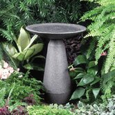 Neo Classic Black Granite Bird Bath