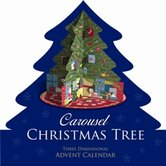 Carousel Christmas Tree Advent Calendar