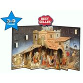 3-D Pop-up Nativity Advent Calendar