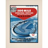 "NASCAR Matted 10.5"" x 14"" Daytona 500 Program Print"