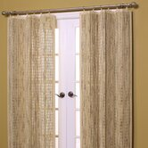 Bamboo Panel and Valance Set in Wheat