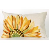 Sunflower Rectangle Indoor/Outdoor Pillow in Yellow