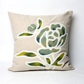 Gabbana Square Indoor/Outdoor Pillow in Seascape
