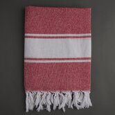 Ayrika Classic Fouta Towel in Red