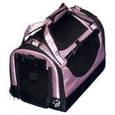 World Traveler Tote Bag Pet Carrier in Crystal Pink