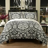 BKIV Damask Duvet Set
