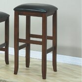 "29"" Barstool in Dark Oak (Set of 2)"