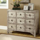 9 Drawer Accent Dresser