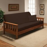 Stretch Jersey Full Futon Cover in Brown