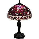 Petite Purple Star Table Lamp