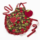 Harvest Market Apple Orchard Apron and Potholder