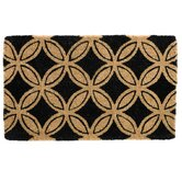 Doormats Geometric Coir Mat