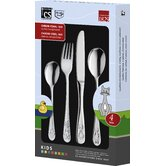 4 Piece Kids Cutlery Set