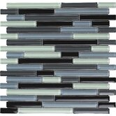 Color Blends Joven Random Glossy Glass Mosaic in Multi
