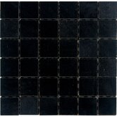 2&quot; x 2&quot; Polished Granite Mosaic in Absolute Black