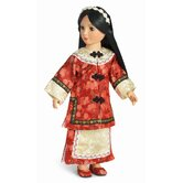 "Lien Hua Manchurian Outfit for 18"" Slim Dolls"