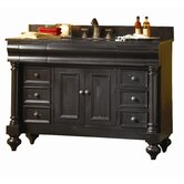 Guild Hall 48&quot; Distressed Vanity with Granite Top