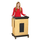 Smart Cart Lectern with Sound