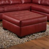 Cardinal Cocktail Ottoman