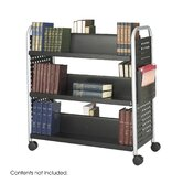 Scoot Book Cart, 6-Shelf