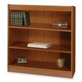 3-Shelf Square-Edge Bookcase