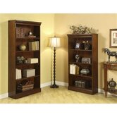 Cantata Tall Bookcase in Burnished Cherry