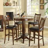 Bella Vista 5 Piece Pub Table Set