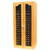 440 Two Door Provincial Oak Wine Cooler Cabinet