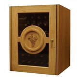 Concord Single Door Oak Wine Cooler